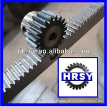 C45 Stahl M1 Zahnstange und Ritzel