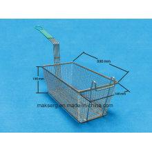 Stainless Steel Fryer Basket Fry Grill 14′′