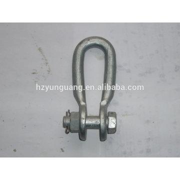 grillete / accesorios de conexión de línea eléctrica / conector accesorio de elevación pesado accesorio de potencia / hardware de construcción
