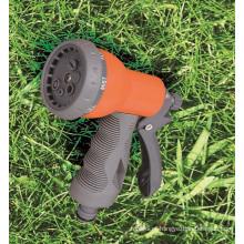 Pulverizador do jardim 6 padrões ajustável ABS plástico injetor de pulverizador de água