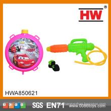 Outdoor jogar brinquedo carros mochila água armas longa distância