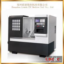 China Small Precision Slant Bed Máquina de torno de torneamento de metal CNC