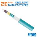 плотный забуференный 72-ядерный внутренний одномодовый оптоволоконный кабель