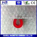 Red,white alnico educational magnet, U shape type, horseshoe type