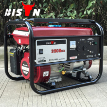 BISON China Taizhou 3KW Elemax Design Gasoline Generator with AC DC Single Phase