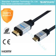 Cable Ethernet HDMI de soporte de alta velocidad OEM 1.4V