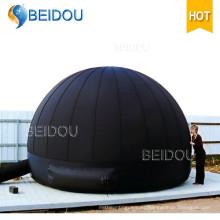 Inflable planetario digital proyector tienda inflable portátiles planetario domo