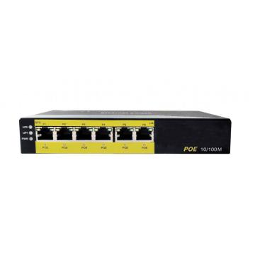 Switch POE 10 / 100M 6-Port Ethernet