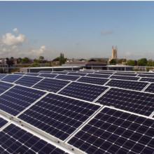Marco de aluminio del Panel Solar por el dibujo personalizado