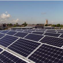 Perfiles extrusionados para Panel Solar