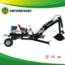 Экскаватор-погрузчик с бензиновым двигателем для квадроцикла / садового трактора