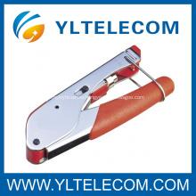 Изоляция безопасности коаксиальный кабель F разъем обжимной инструмент