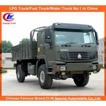 All Wheel Drive Sinotruk HOWO 4X4 Cargo Truck for Desert
