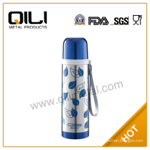 thermos double wall stainless steel bullet vacuum flask
