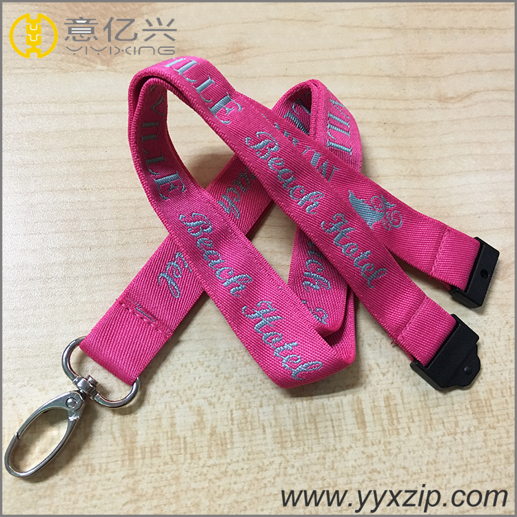 Customized Thick Jacquard Lanyard