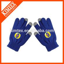 Оптовая трикотажные акриловые перчатки с сенсорным экраном