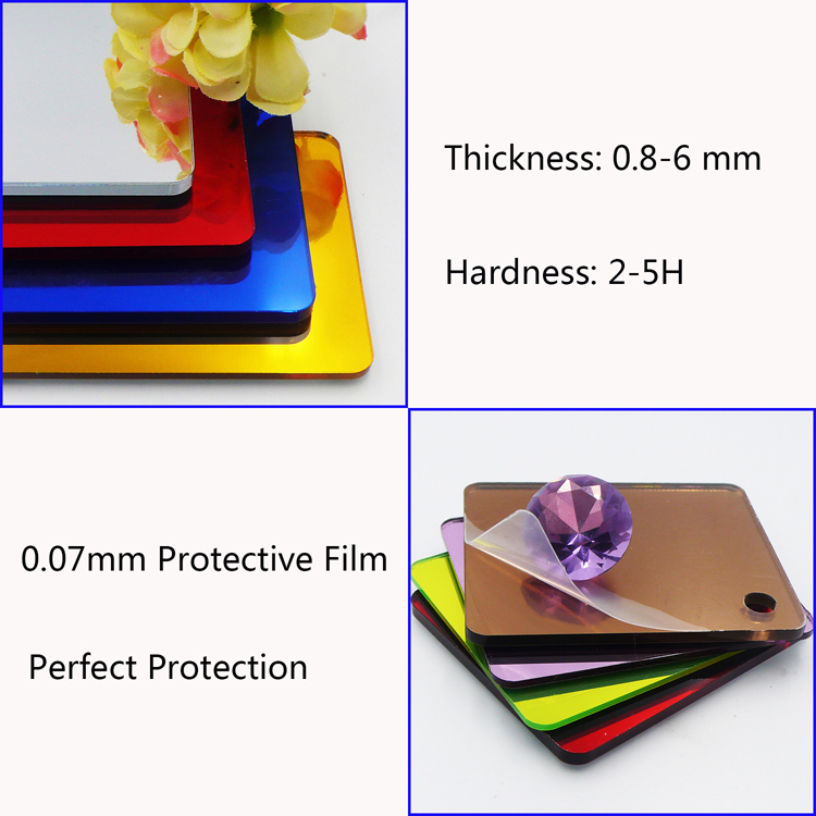 Acrylic Mirror sheets durable