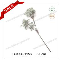 L70cm plastique décoratif artificiel PE fleurs de noel
