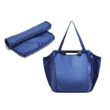 wholesale ripstop nylon foldaway polyester drawstring shopping bag
