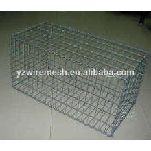 PVC coated wire gabion box/stone gabion mesh