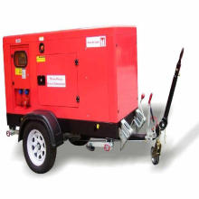 36kw 45kVA Trailer Soundproof Mobile Diesel Generator with ATS
