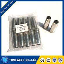 Inyector de gas mig 15AK inyector binzel conicai boquilla 12mm