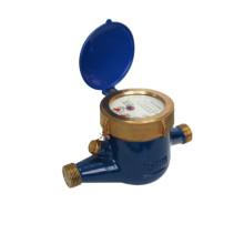 Medidor de água fria / quente da roda giratória da aleta do Multi-Jato