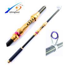TSR064china fibra de carbono fibra de pesca blanks fiação telescópica vara de pesca