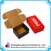 Corrugated box customs for packaging use with matt lamination