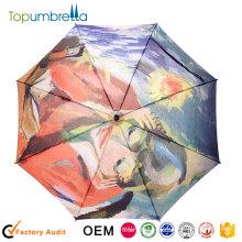 En gros nouveau logo impression Grand voyage Parapluies