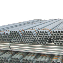 Construction material ERW galvanized iron steel pipe tube with good quality