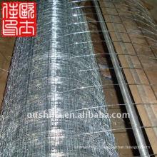 Protection des rouleaux de maille soudés galvanisés