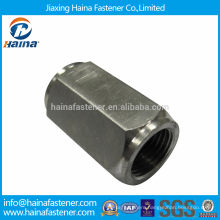 DIN Standard Stock Stainless Steel Hex Coupling Round Nuts