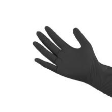 Gants de nitrile jetables SGCB résistant aux produits chimiques