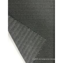Nylon Polyester Fischgrät Jacquard Knit Stoff