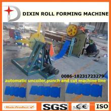Máquina de punzonado y corte de Dx Uncoiler