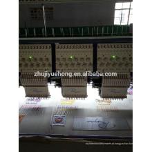 12 cabeças máquina de bordar de alta velocidade YUEHONG marca
