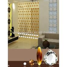 China Lieferant Kristall Fenster Vorhänge Prinzessin Vorhänge