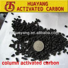 valor de iodo 1000mg / g coluna planta de carbono ativado para tratamento de água