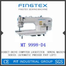 Прямой привод Компьютерная швейная машина челночного стежка (MT 9998-D4)