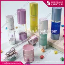 China Alu Airless frasco garrafa acrílica para cosméticos, 200ml garrafa
