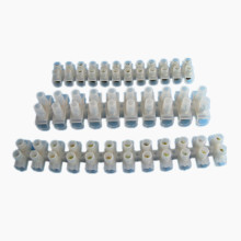 15A 12mm2 Terminal Block Plastic Terminal Blocks H/ U/ V Type PA PP PE