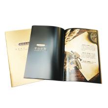 Impressão de folhetos personalizados de laminação de alta qualidade