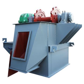 Elevador de caçamba para equipamento de entrega