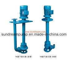 Pompe à drague verticale / pompe à boues verticales