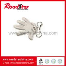 High light reflective dangle tags, reflective key fobs, reflective key ring