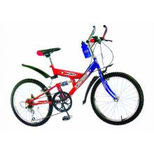 """Bicicleta de 20 """"con suspensión simple"""
