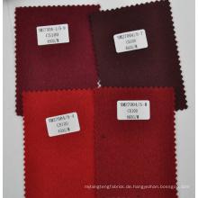 Roter Burgunder 100% Kaschmir Decke Stoff Großhandel
