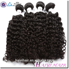 Qingdao Hair Factory Cambodian Hair Virgin Curly Natural Black Human Hair Dropship