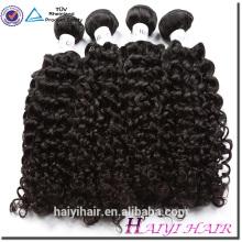 Циндао Завод Волос Камбоджийский Волосы Девственницы Вьющиеся Натуральный Черный Человеческие Волосы Прямые
